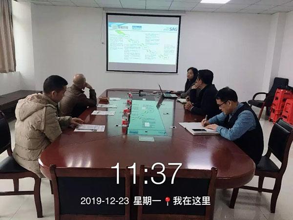 2019.12.23中国好食品到我司参观