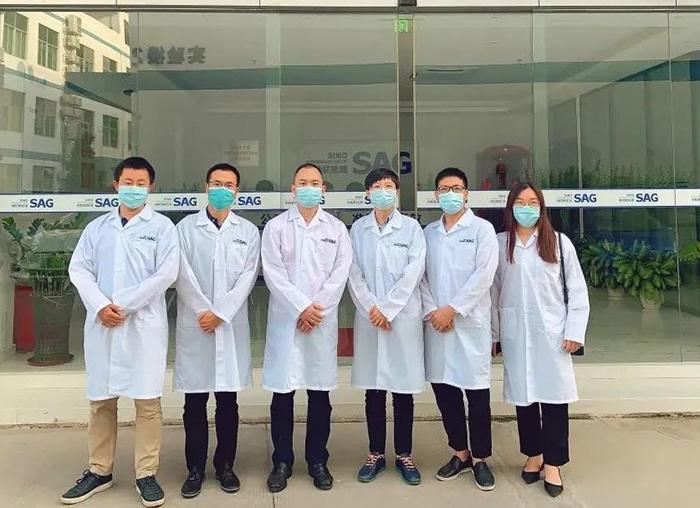 北京勤邦生物技术有限公司马玉华副总经理一行来我司洽谈合作...
