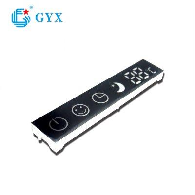 带触摸控制数码显示屏 LED数码管屏定制开发生产