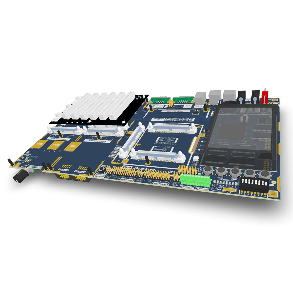 各类大小家用电器屏幕显示控制PCBA板,工厂定制开发PCBA板