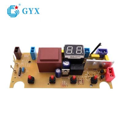 雙八顯示帶LED數碼管PCBA貼片加工大小家電控制板