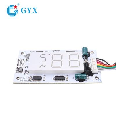 制冷設備配件帶數碼管顯示控制的PCBA板控制模塊