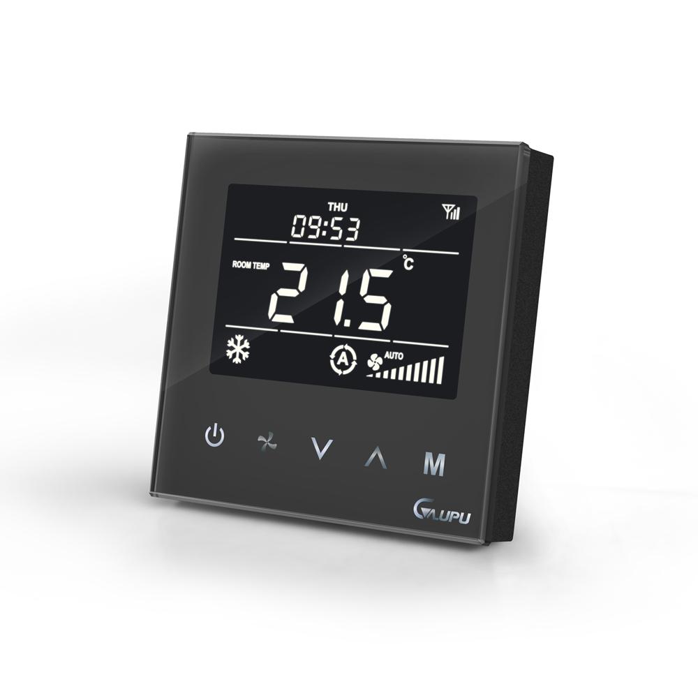 晶钻黑采暖温控器 GM8