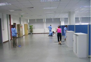 軍威辦公室保潔案例