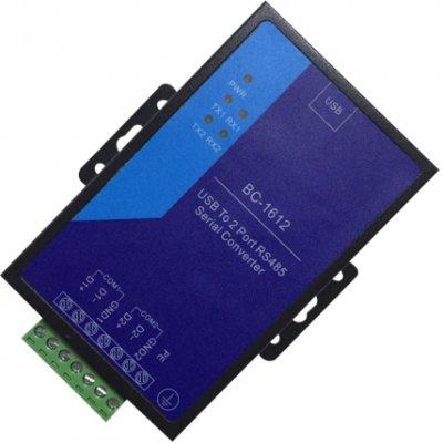 1路USB 转2路485 防雷型转换器(铁塔专用)