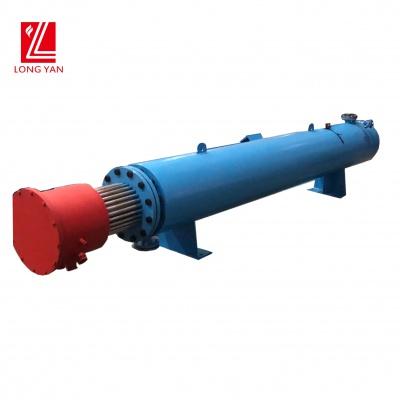 工業管道加熱器加熱空氣,升溫快,控溫精確,應用于熔噴布設備生產線