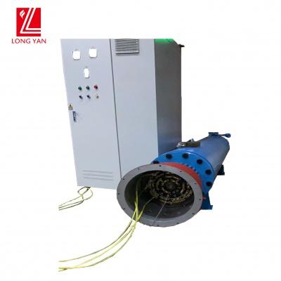 高效率零污染加熱器,管道加熱器加熱導熱油,可連接反應釜使用