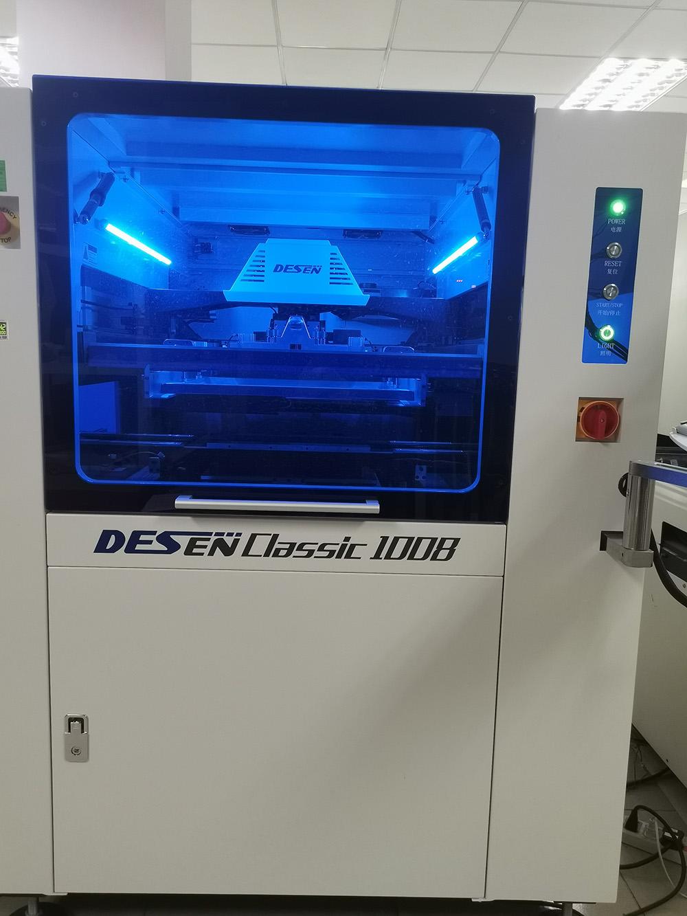 全自動生產線2(錫膏印刷機)