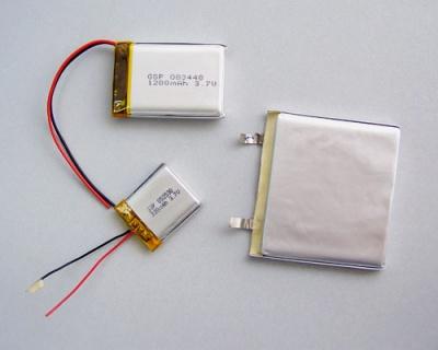 聚合物鋰離子可充電3.7V電池