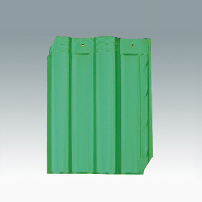 孔雀绿琉璃瓦