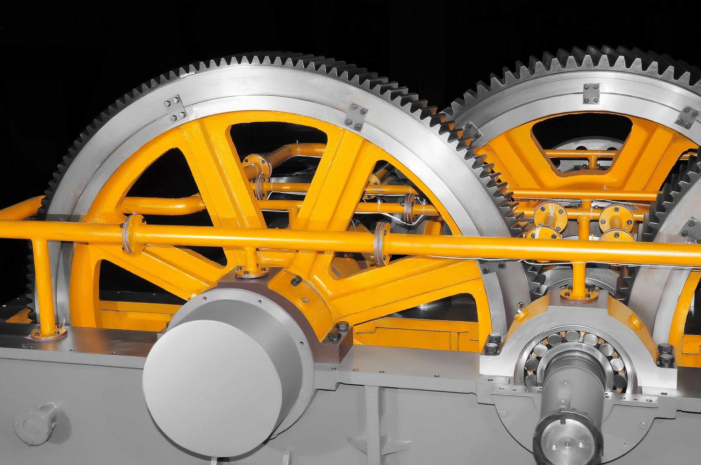 JQS系列水泥工業用硬齒面中心傳動磨機減速機