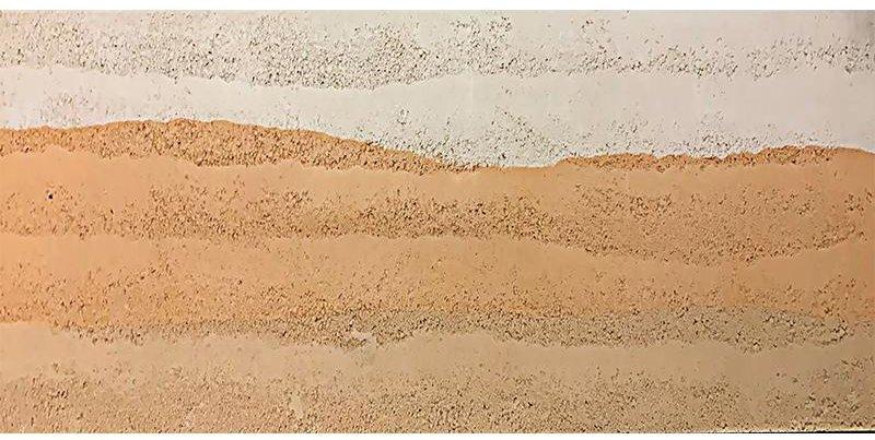 新洞石米白色