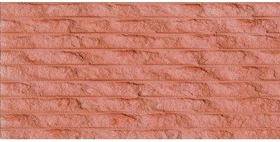 粗紋線石朱紅色