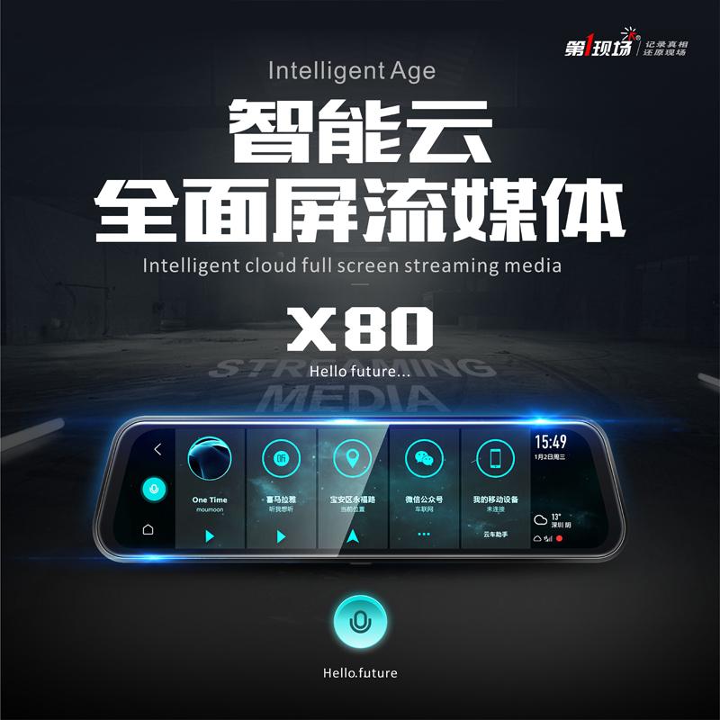 第1現場流媒體X80