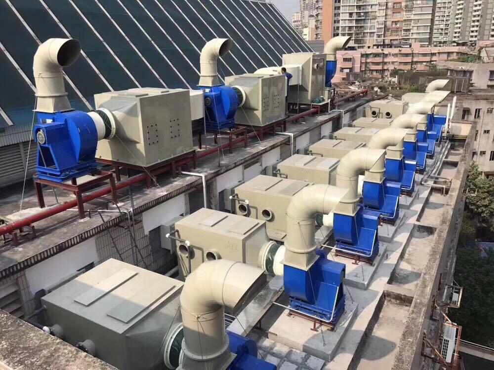 实验室有机废气活性炭吸附工程实例