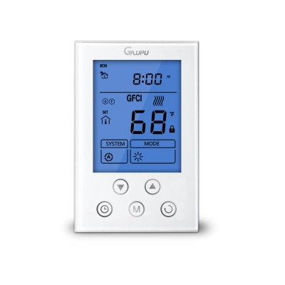 GM4 110V/220V AC Dual-Temp Underfloor Heating Thermostat