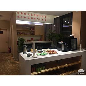 天津濱海國際機場 13號休息室咖啡機