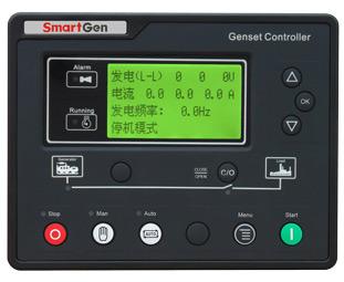 众智HGM6110U发电机组控制器