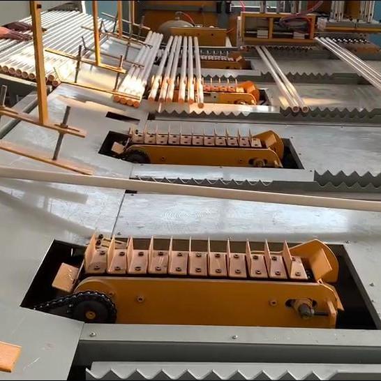 海亮集團銅管清洗-烘干-包裝自動流水線