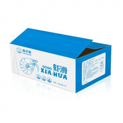 海宇鲜虾滑箱子