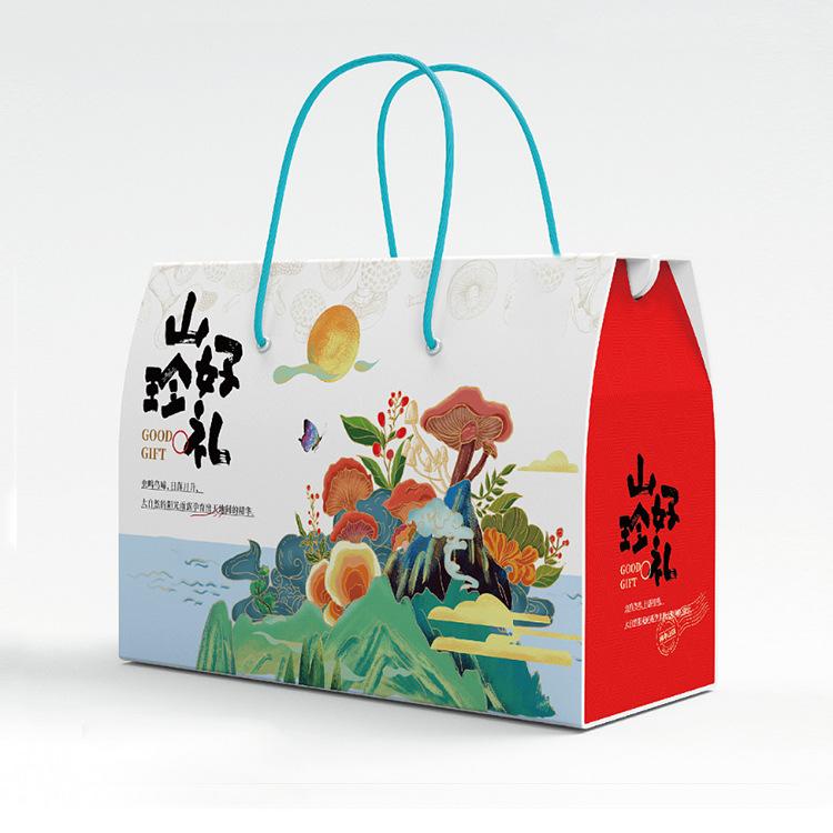 菌菇特产礼品箱