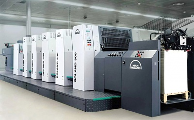 ROLAND 印刷机