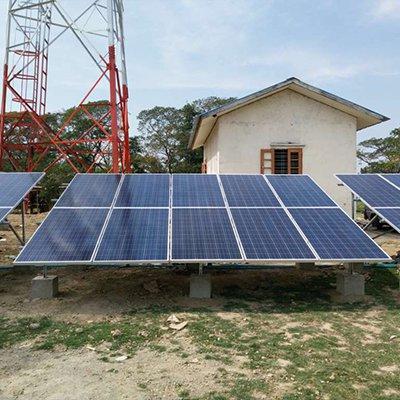 緬甸8.7KW光伏項目1
