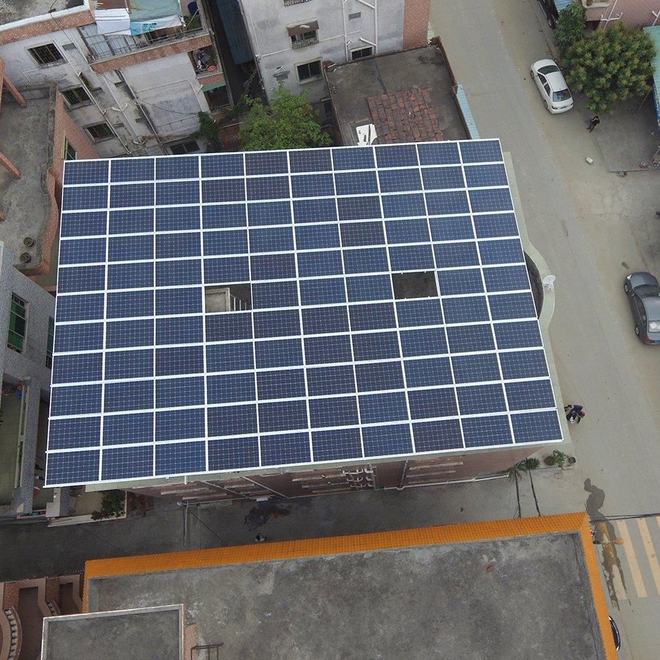 高埗31.32KW居民光伏發電項目