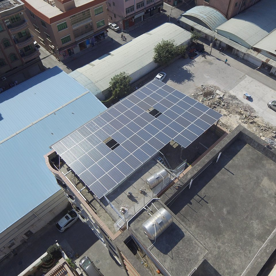厚街21.935KW居民光伏發電項目
