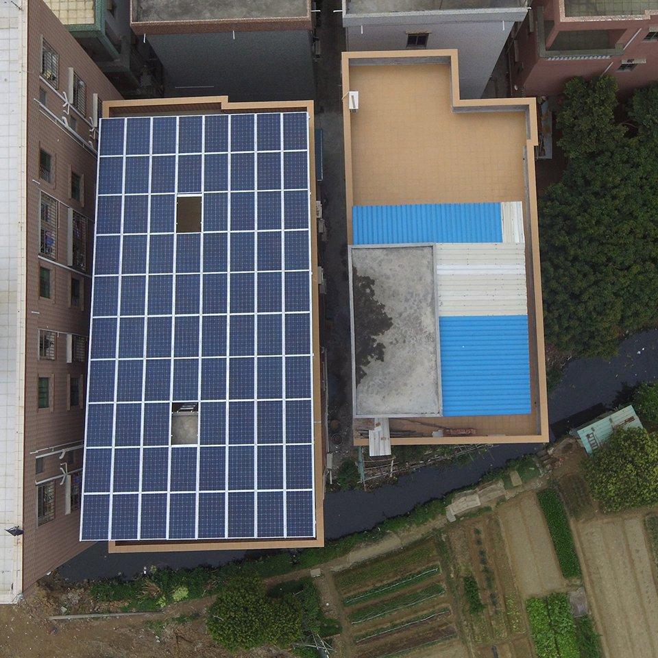 高埗21.8KW居民光伏發電項目