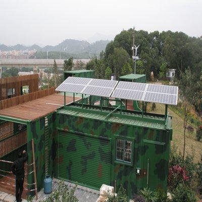 深圳市龍崗雙道橋廊綠道工程 3.KW離網發電系統