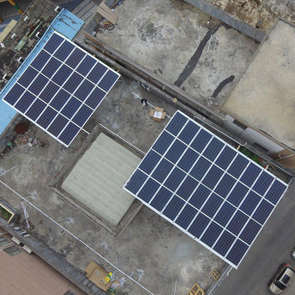 橫梁16.8KW居民光伏發電項目