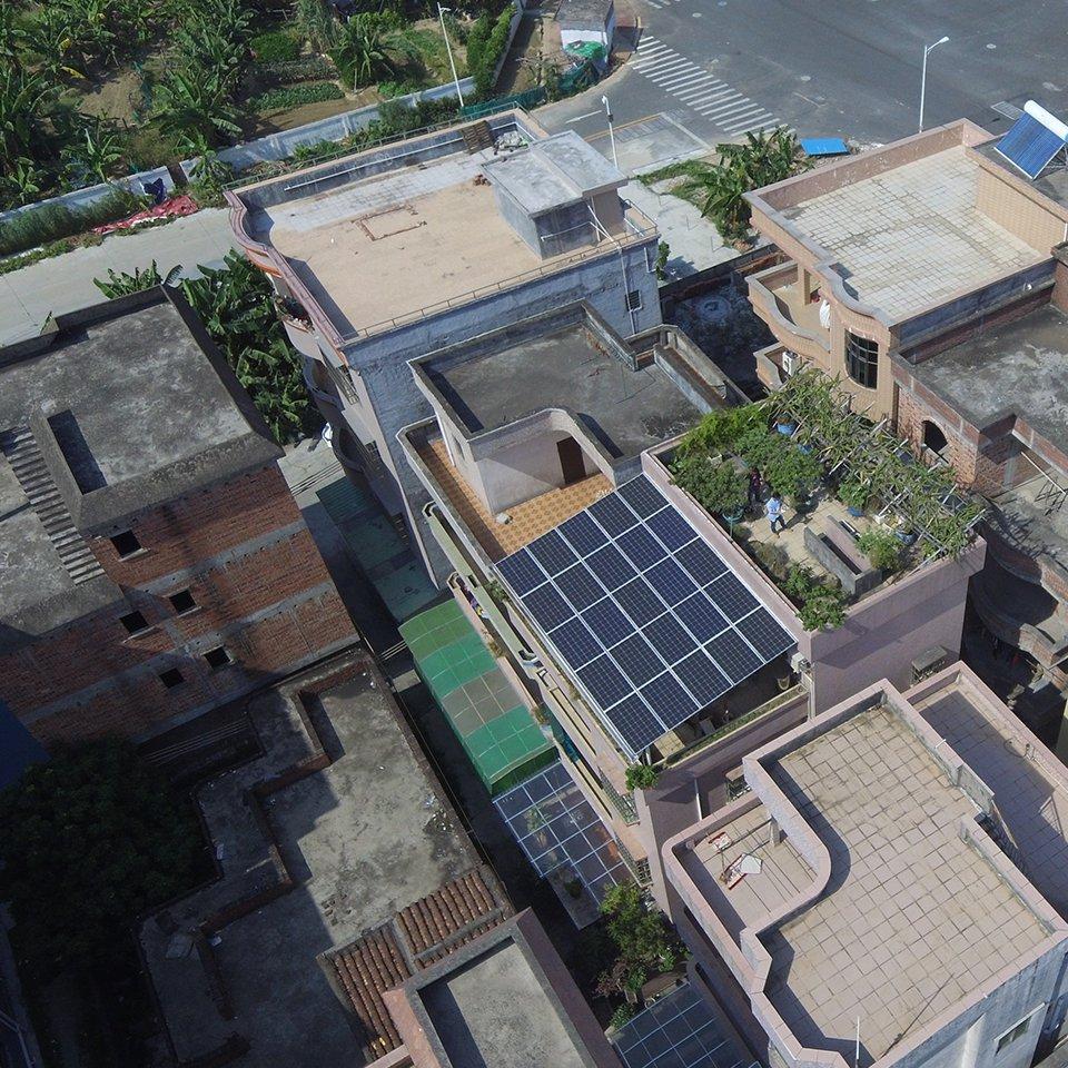 石碣7.125KW居民光伏發電項目