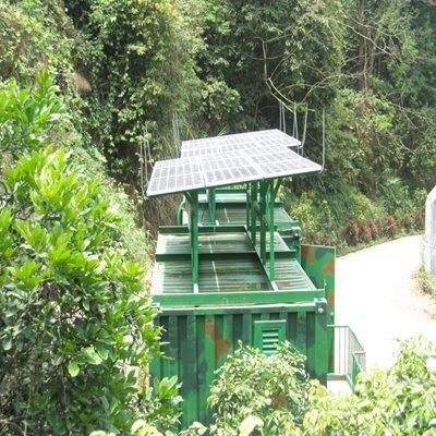 深圳市龍華漢屋綠道工程 3KW離網發電系統