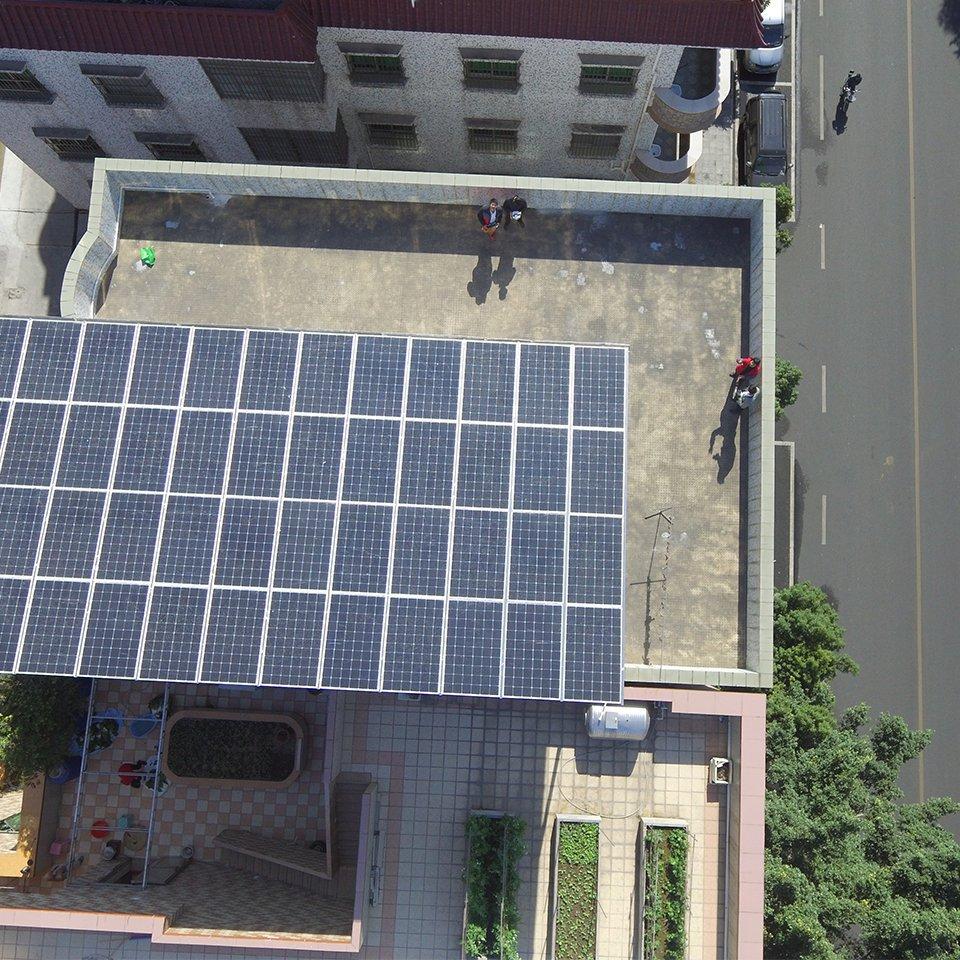 道滘13.44KW居民光伏發電項目