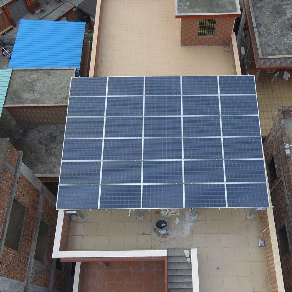 洪梅7.95KW居民光伏發電項目
