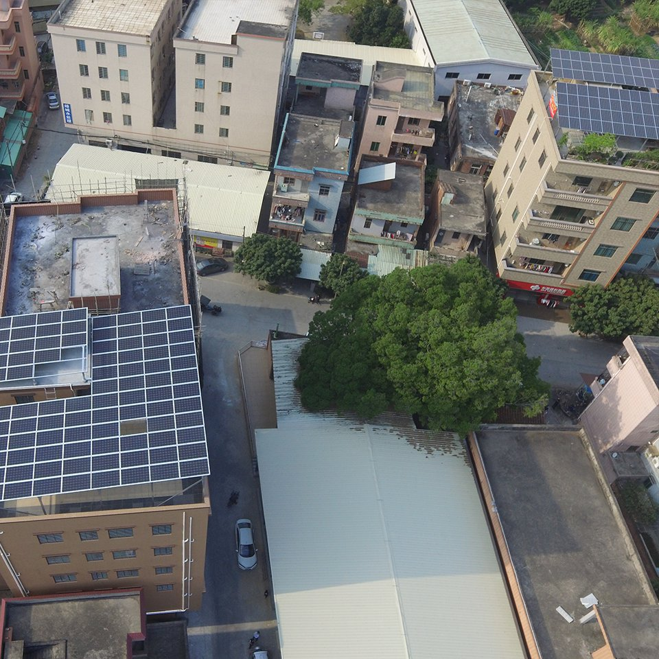 高埗24.64KW居民光伏發電項目