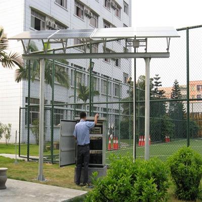 東莞市可口可樂公司足球場照明工程-1.5KW 離網發電系統