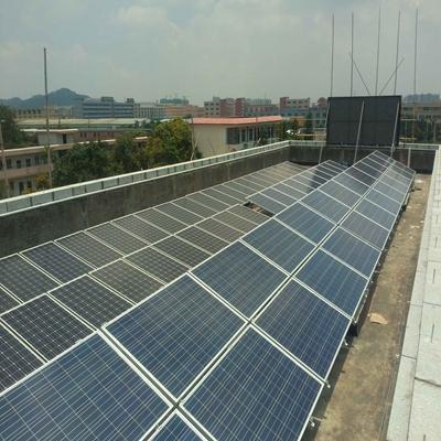 廣州花都11KW市電互補系統