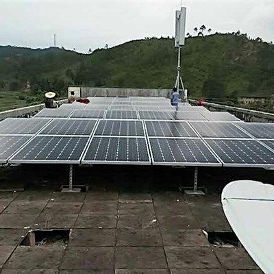 河源雪峰村20KW學校屋頂扶貧電站項目