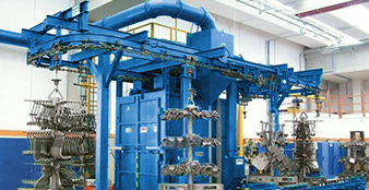 What aspects should be paid attention to in the development of domestic shot blasting machines?