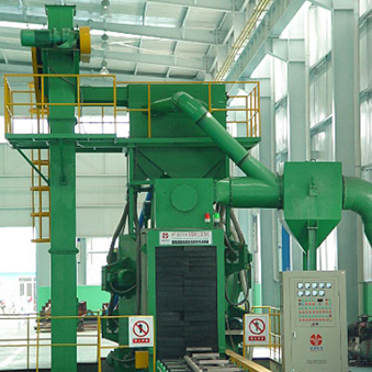 Q69 pass shot blasting machine