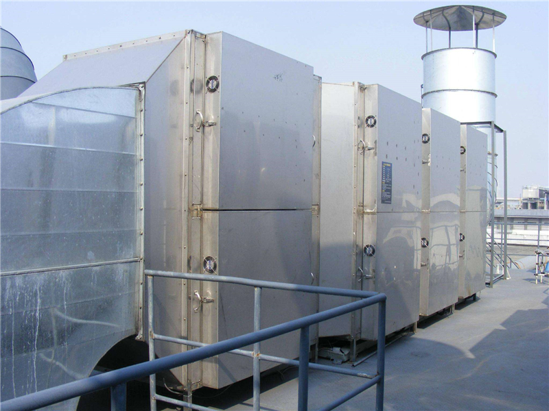 HPUV type UV photocatalysis organic waste gas treatment equipment