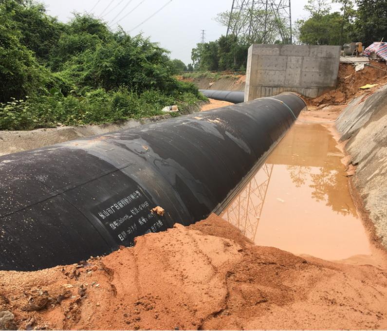 建設鐵崗•長流陂支線供水工程(一期)2