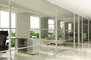 单层玻璃玻璃隔墙