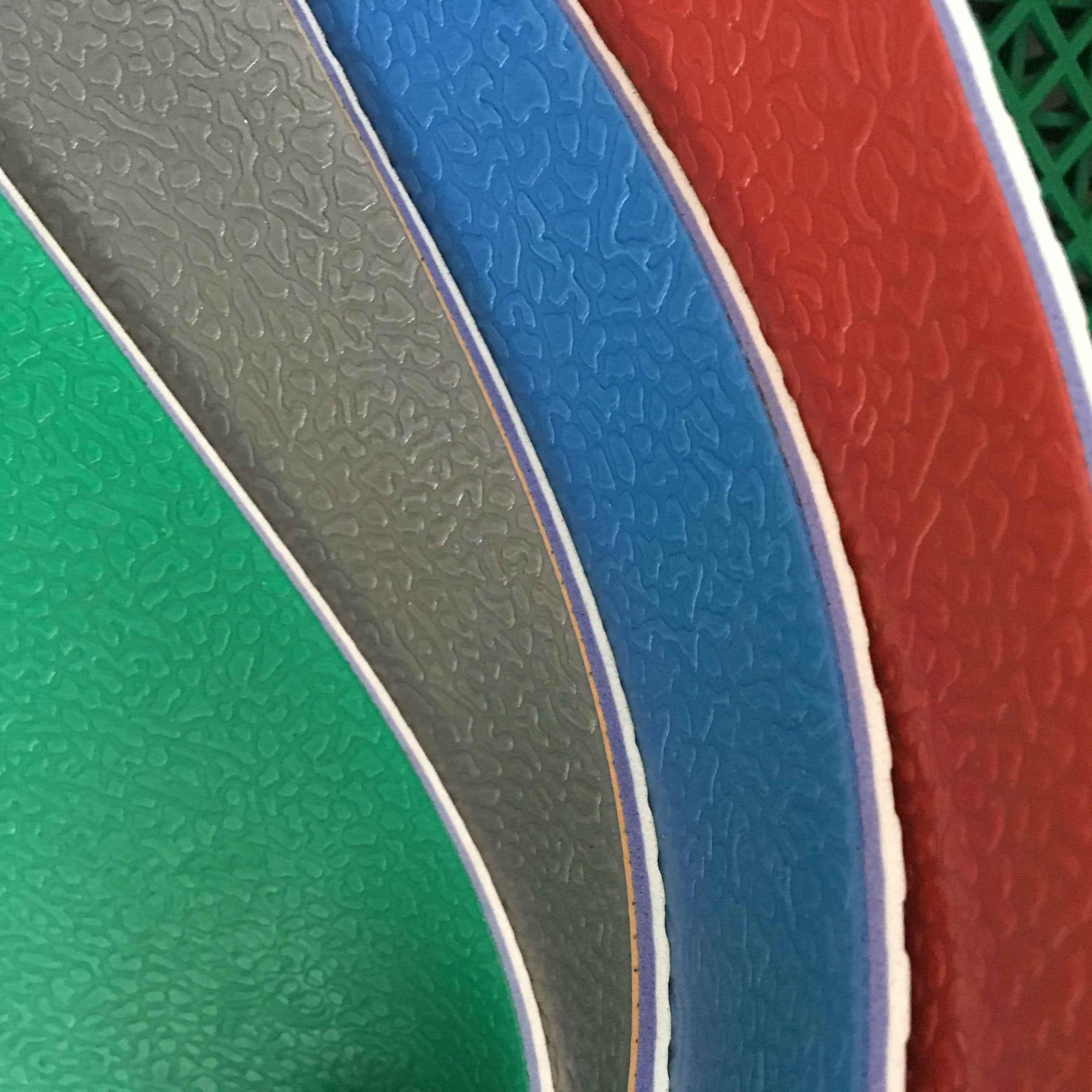 室内5.3mm透明层碎石纹羽毛球运动地胶垫乒乓球耐磨塑胶PVC地板胶