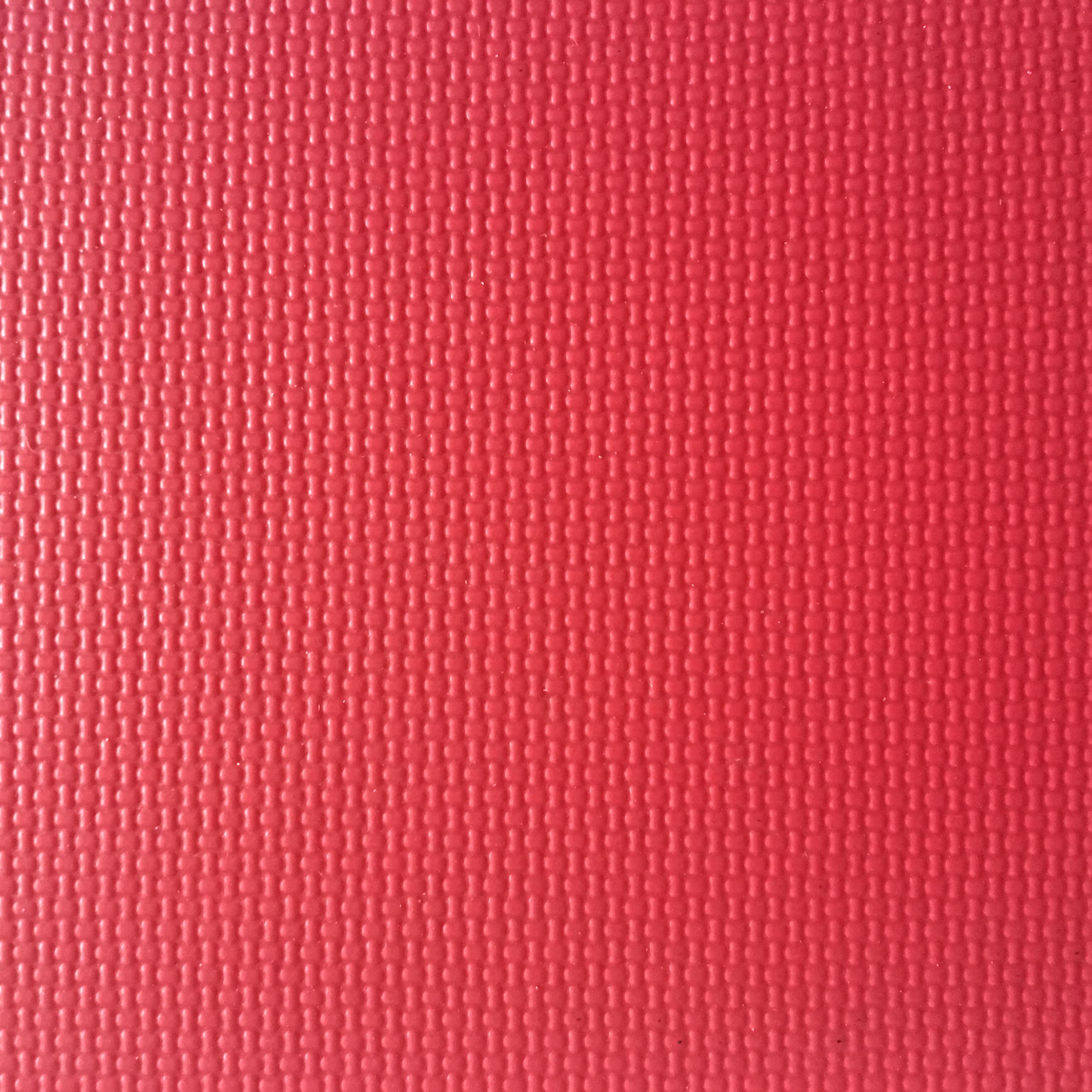 布纹4.5mm乒乓球专业地垫健身体操室地胶PVC塑料耐磨防火地板红色/蓝色