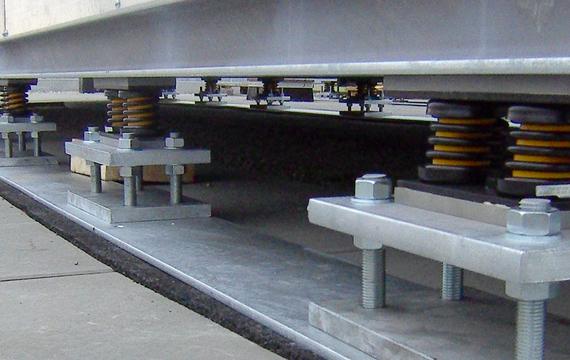 隔振减震暖气、空调、通风设备 (HKL/HVAC)应用
