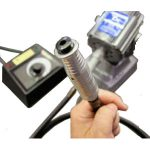 Electronics Inc气压调节器,旋转式皮瓣喷丸