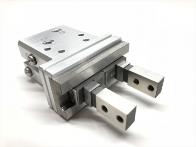 New-Era直線導軌平行氣爪(夾指 長夾指型))HP04FR